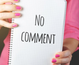 2020-02-06 20_30_18-Woman Holding No Comment Signage · Free Stock Photo
