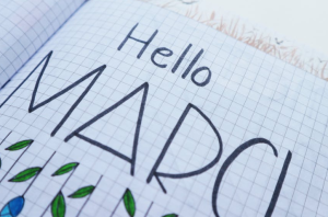 2020-04-02 23_08_04-Hello March Printed Paper on White Surface · Free Stock Photo